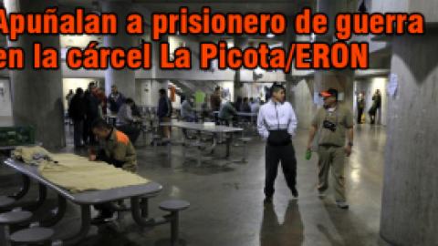 Apuñalan en la cabeza a prisionero de guerra de las Farc en la cárcel La Picota/ERON