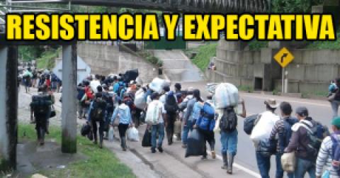Resistencia y Expectativa en delegaciones del Oriente Colombiano en Paro