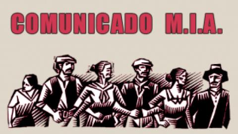 COMUNICADO M.I.A.