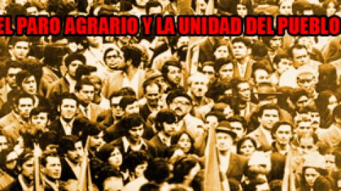 Colombia: El paro agrario y la unidad del pueblo