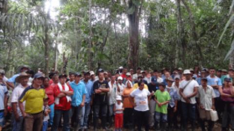 Trabajadores del Guaviare se Suman al Paro Nacional en Colombia