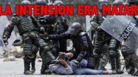 """""""LA INTENSION ERA MATAR UN CAMPESINO PARA QUE EL PARO CAYERA """""""