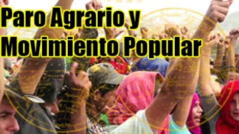 COLOMBIA: EL PARAO AGRARIO Y LAS TAREAS DEL MOVIMIENTO POPULAR