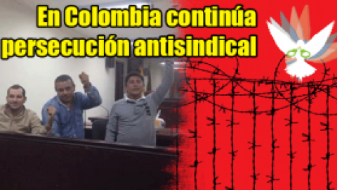 Tres sindicalistas petroleros presos por defender derechos