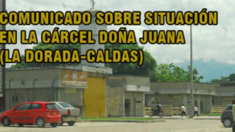 PAUPERRIMAS CONDICIONES EN LA CARCÉL DOÑA JUANA-LA DORADA-CALDAS