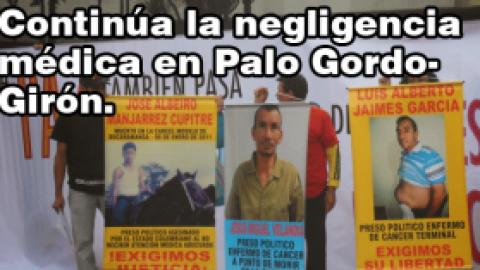 PRESO POLÍTICO DE PALOGORDO ENFERMO DE CÁNCER CONTINÚA SIN RECIBIR ATENCIÓN POR PARTE DEL ESTADO COLOMBIANO