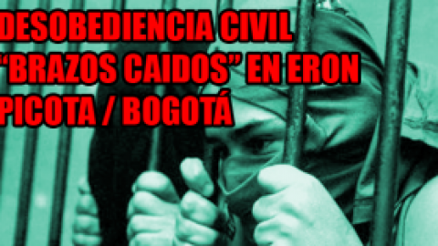 DESOBEDIENCIA CIVIL EN ERON / PICOTA (11 de febrero)