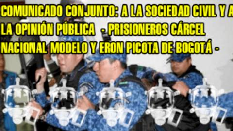 A LA SOCIEDAD CIVIL Y LA OPINIÓN PÚBLICA