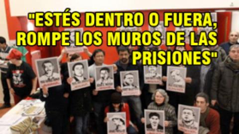 """""""ESTÉS DENTRO O FUERA, ROMPE LOS MUROS DE LAS PRISIONES"""""""