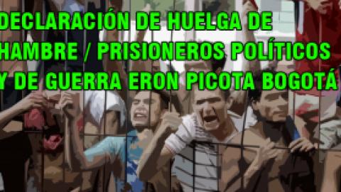 DECLARACIÓN DE HUELGA DE HAMBRE