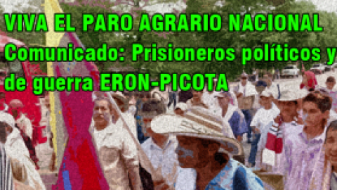 VIVA EL PARO AGRARIO NACIONAL