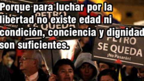 """""""PEDIR MÁS DEMOCRACIA DENTRO DEL CAPITALISMO ES COMO PEDIRLE A UN TIGRE QUÉ SE HAGA VEGETARIANO"""". JULIO ANGUITA"""