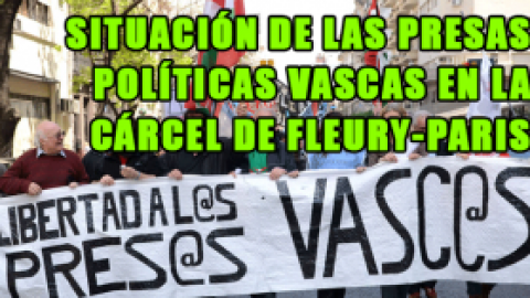 Carta de las presas políticas vascas desde Fleury