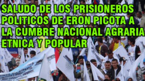 SALUDO DE LOS PRISIONEROS POLITICOS DE ERON PICOTA