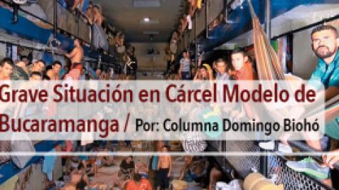 Grave Situación en Cárcel Modelo de Bucaramanga