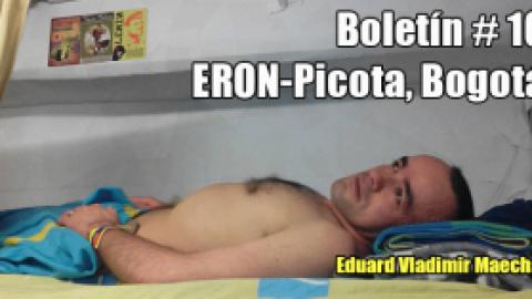 Boletín # 10 ERON-Picota, Bogotá