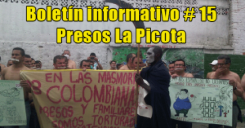 Boletín informativo # 15 / Presos La Picota