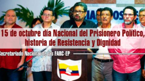 15 de octubre día Nacional del Prisionero Político, historia de Resistencia y Dignidad