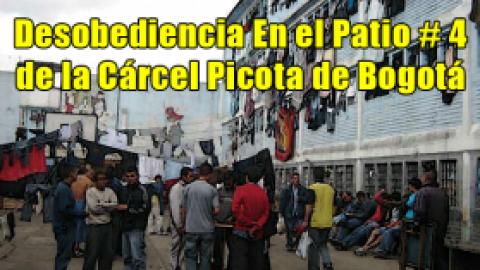 Desobediencia Patio # 4 Picota, Bogotá