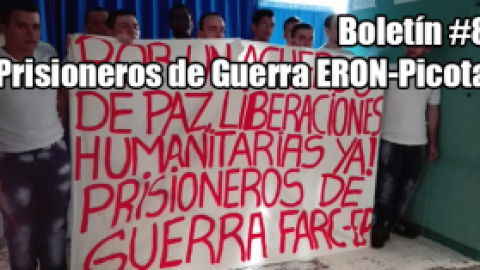 Boletín #8 Prisioneros de Guerra ERON-Picota PICOTA