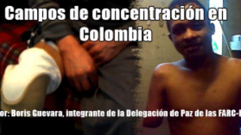 Campos de concentración en Colombia