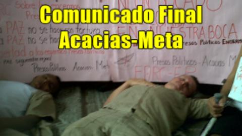 Comunicado Final / Acacias-Meta