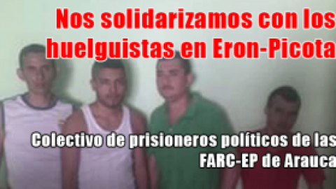 Nos solidarizamos con los huelguistas en Eron-Picota