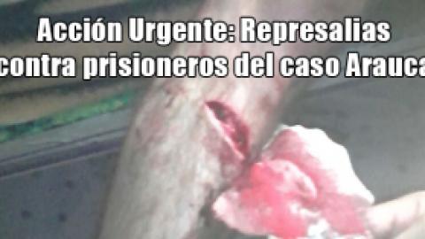Acción Urgente: Represalias caso ARAUCA