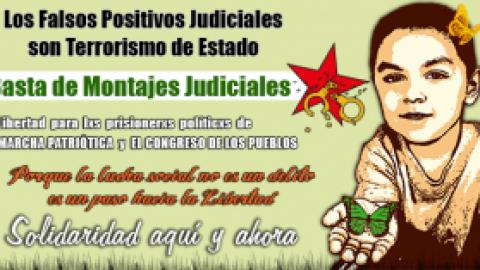 LIBERTAD PARA HUBER BALLESTEROS GÓMEZ Y PARA LOS 13 JOVENES PRESOS HACE UN MES EN COLOMBIA