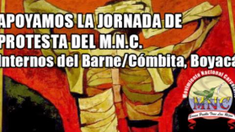 APOYAMOS LA JORNADA DE PROTESTA DEL M.N.C.
