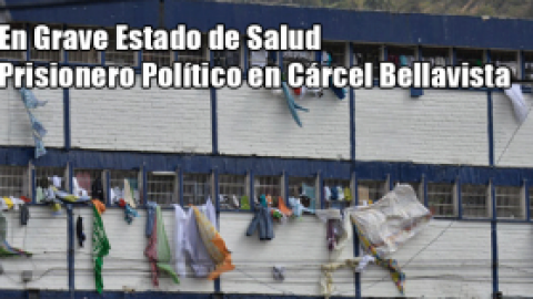 En Grave Estado de Salud Prisionero Político en Cárcel Bellavista