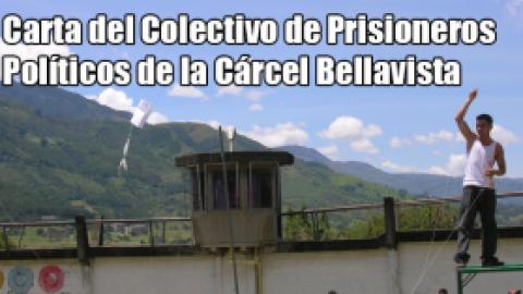 Carta del Colectivo de Prisioneros Políticos de la Cárcel Bellavista