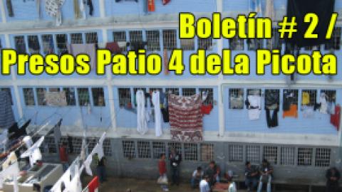 Boletín # 2 / Presos La Picota