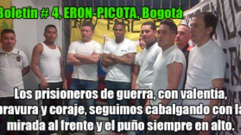 Boletín # 4 ERON-PICOTA, Bogotá