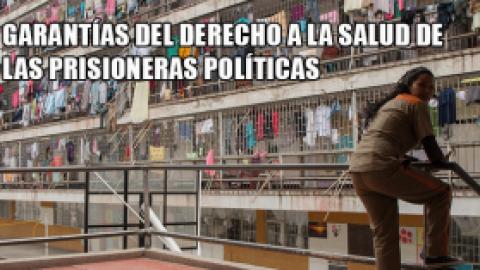 GARANTÍAS DEL DERECHO A LA SALUD DE LAS PRISIONERAS POLÍTICAS