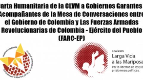 Carta Humanitaria de la CLVM a Gobiernos Garantes y Acompañantes de la Mesa de Conversaciones