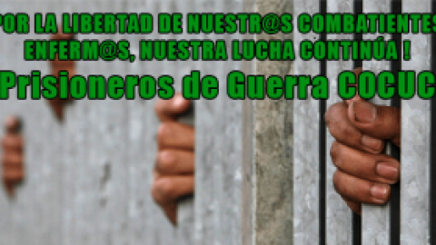 POR LA LIBERTAD DE NUESTR@S COMBATIENTES ENFERM@S, NUESTRA LUCHA CONTINÚA