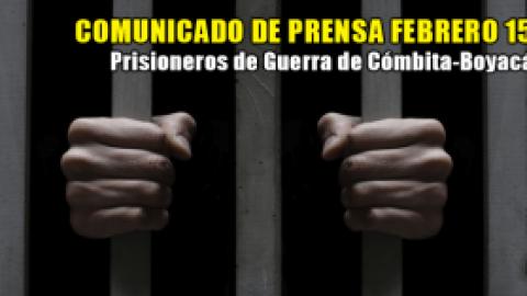 COMUNICADO DE PRENSA FEBRERO 15 DE 2016