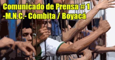 Comunicado de Prensa -M.N.C.- Cómbita / Boyacá