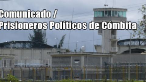 Comunicado / Prisioneros Políticos de Cómbita