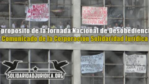 A proposito de la Jornada Nacional de Desobediencia CSJ-Comunicado