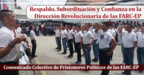 Subordinación y Confianza en la Dirección Revolucionaria de las FARC-EP
