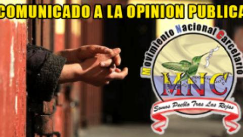 COMUNICADO A LA OPINION PUBLICA – M.N.C.