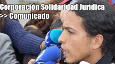 Corporación Solidaridad Jurídica >> Comunicado