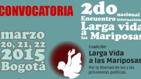 """2 ENCUENTRO NACIONAL """"LARGA VIDA A LAS MARIPOSAS"""""""