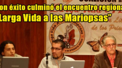 """Con éxito culminó el Encuentro Regional """"Larga Vida a las Mariposas"""""""
