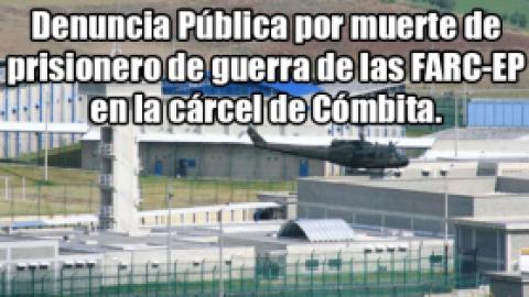 FALLECE EN CÓMBITA RAMIRO ÚSUGA, PRISIONERO DE GUERRA DE LAS FARC-EP