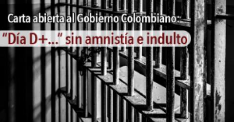 """Asunto: """"día D+.."""" sin amnistía e indulto"""