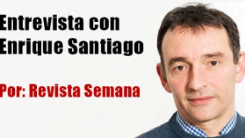 Entrevista con Enrique Santiago