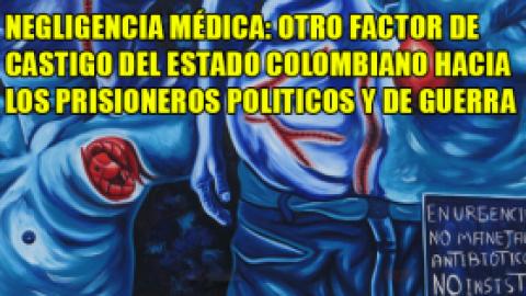NEGLIGENCIA MÉDICA: OTRO FACTOR DE CASTIGO DEL ESTADO COLOMBIANO HACIA LOS PRISIONEROS POLITICOS Y DE GUERRA
